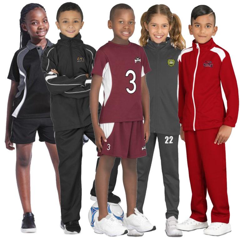 Idea-Shack Branded Clothing Sportswear Off-field Kids