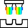Idea-Shack Debossing Icon